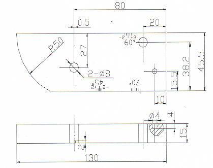 超音波探傷A-3型試験片