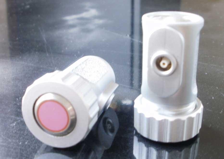贈答 !超美品再入荷品質至上! 垂直探触子-保護膜装着可通常の垂直探傷に使用 コネクターはLemo1 レモ大 AITスタンダードタイプ超音波垂直探触子BD5Z25N-LE