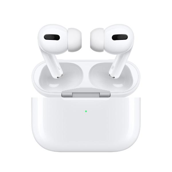 AirPods pro MWP22J/Aエアポッズプロ 保証未開始 Bluetooth対応ワイヤレスイヤホン Apple エアポッズ プロ アップル純正 ワイヤレスイヤホン ノイズキャンセリング iPhone ペアリング Bluetooth 白 ホワイト 正規品[ラッピング対応可]MZK