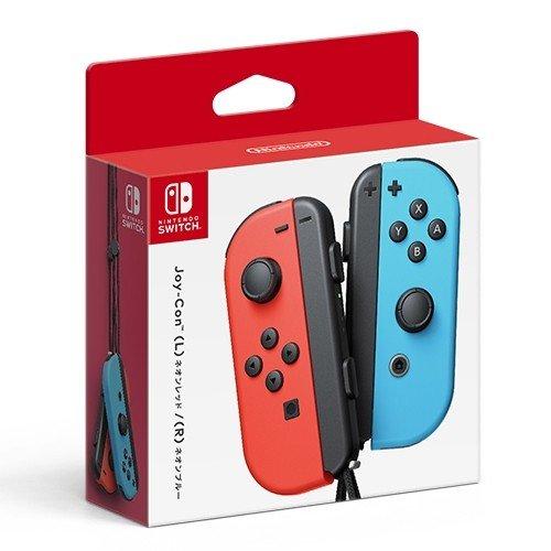 Nintendo 完全送料無料 whitch Joy-Con L ネオンレッド R ニンテンドー ネオンブルー HAC-A-JAEA ラッピング対応可 セール品 スイッチ ジョイコン