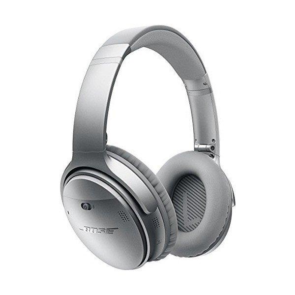 【送料無料 代引可 平日15時・土曜14時まで当日発送】Bose QuietComfort 35 wireless headphones ワイヤレスノイズキャンセリングヘッドホン シルバー
