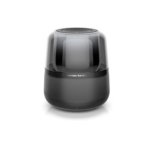 【全国送料無料 代引可 平日15時・土曜14時までご注文で当日発送】Harman Kardon ALLURE アルーア スマートスピーカー Alexa対応/Bluetooth対応 ブラック HKALLUREBLKJN