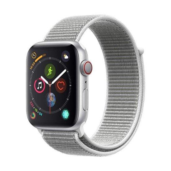 【送料無料 代引可 平日15時までご注文で当日発送】APPLE Apple Watch Series 4 GPS+Cellularモデル 44mm MTVT2J/A シーシェルスポーツループ