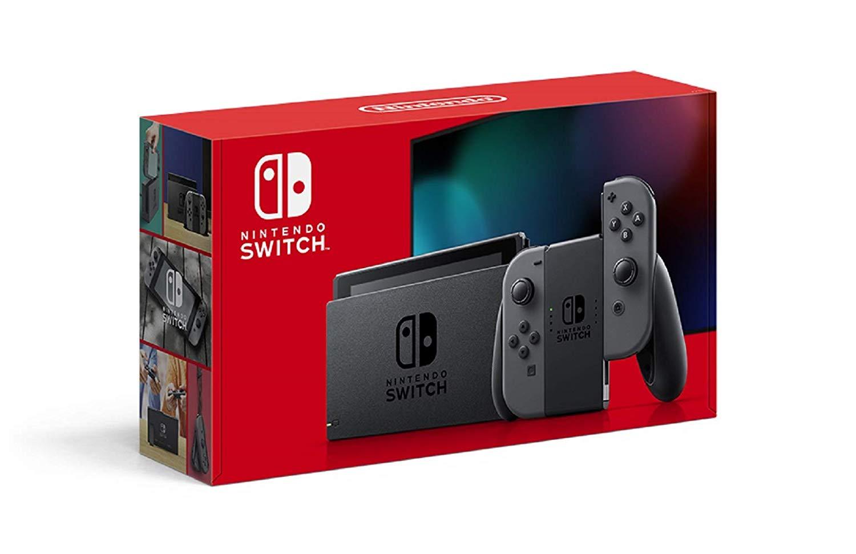 訳アリ品 新型 Nintendo Switch ニンテンドー スイッチ 本体 Joy-Con (L) / (R) グレー 任天堂  [ラッピング対応不可]
