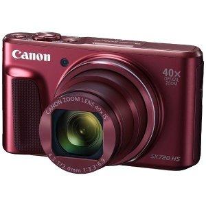 Canon PowerShot SX720 配送員設置送料無料 HS レッド キヤノン パワーショット 最新号掲載アイテム デジタルカメラ RE PSSX720HS