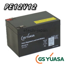 新品 送料無料 一部地域除く 代引手数料無料 ポータラックPE 激安挑戦中 ジーエス ユアサ PE12V12
