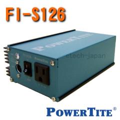 FI-S126FR 未来舎 正弦波インバーター 電源電圧:24V (125W)