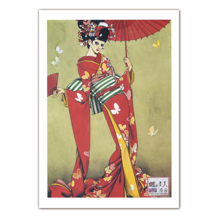 中原淳一 商品追加値下げ在庫復活 毎日がバーゲンセール A2ポスター 蝶々夫人
