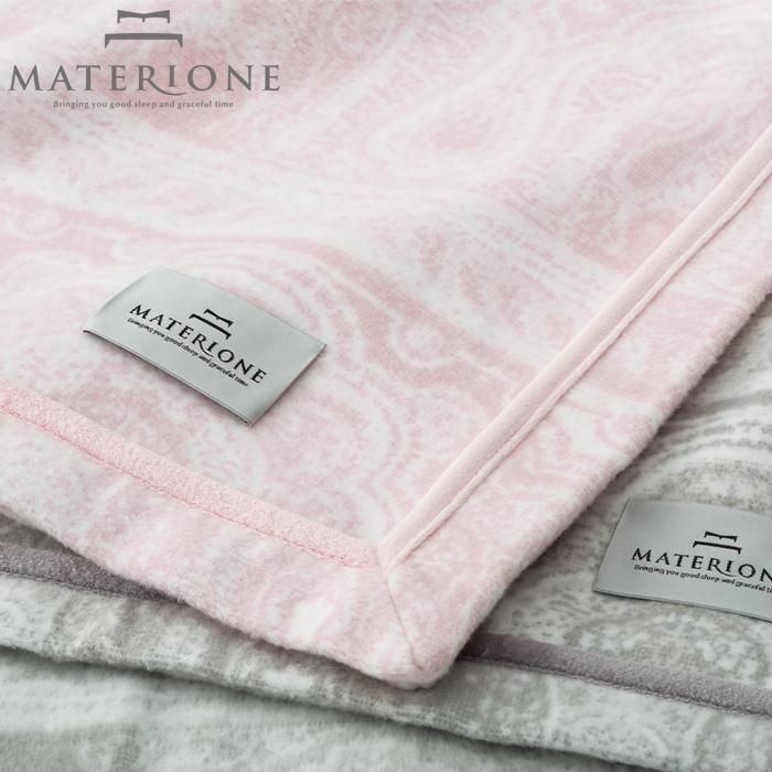 [MATERIONE]コットンブランケット/ロマノ綿毛布コットンブランケットダブル180×210cm高級高品質西川