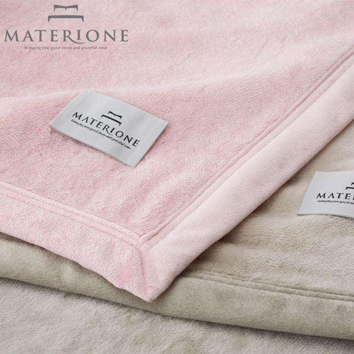 [MATERIONE]シール織コットンブランケット/フローラ綿毛布コットンブランケットシングル150×210cm高級高品質西川