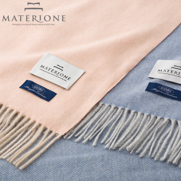 [MATERIONE]カシミヤひざ掛け/ミラノ羊毛ひざ掛けウールひざ掛けウールハーフ高級高品質西川