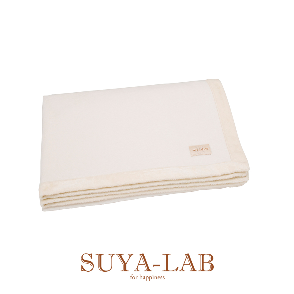 [SUYA-LAB] シルク/オーガニックブランケット(毛羽部分)/SU9909 シングル 140×200cm