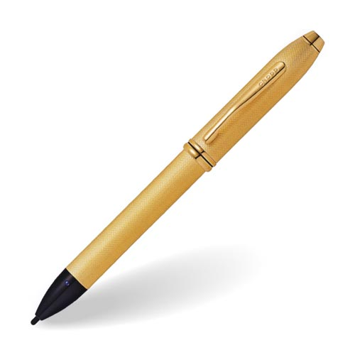 クロス タッチペン タウンゼント ファインチップ eスタイラス ブラッシュト23金ゴールドプレート AT0049-42