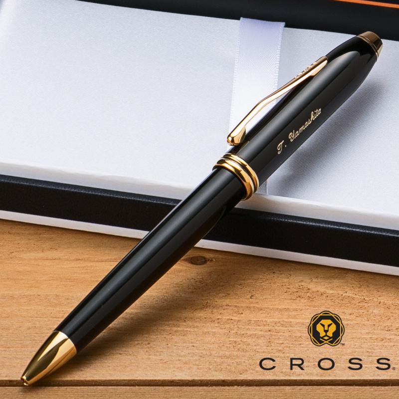 【名入れ無料】 クロス CROSS タウンゼント ボールペン ブラックラッカー 572TW