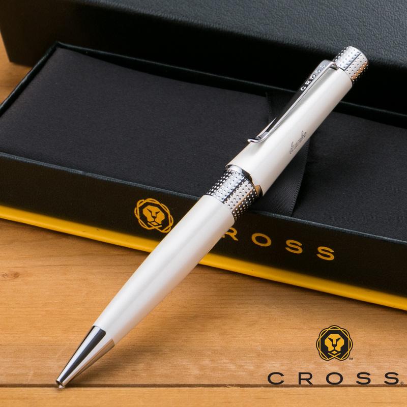 【名入れ無料】 クロス CROSS ベバリー アイボリー ボールペン AT0492-2
