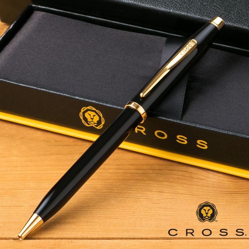 【名入れ無料】 クロス CROSS センチュリーII ボールペン ブラックラッカー 412WG-1