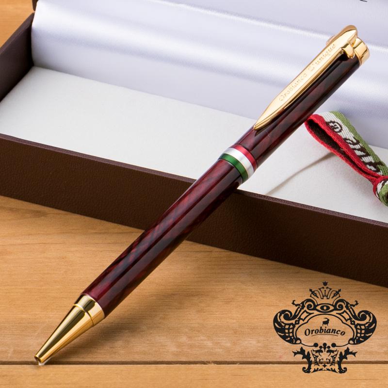 Orobianco(オロビアンコ)ルニーククローチェダークレッドGTボールペン1951102