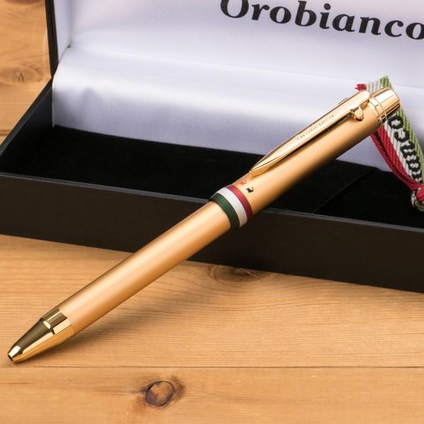 今すぐ使える!割引クーポン配布中!オロビアンコ Orobianco トリプロ コレクション 複合ペン ゴールド GT 1953202