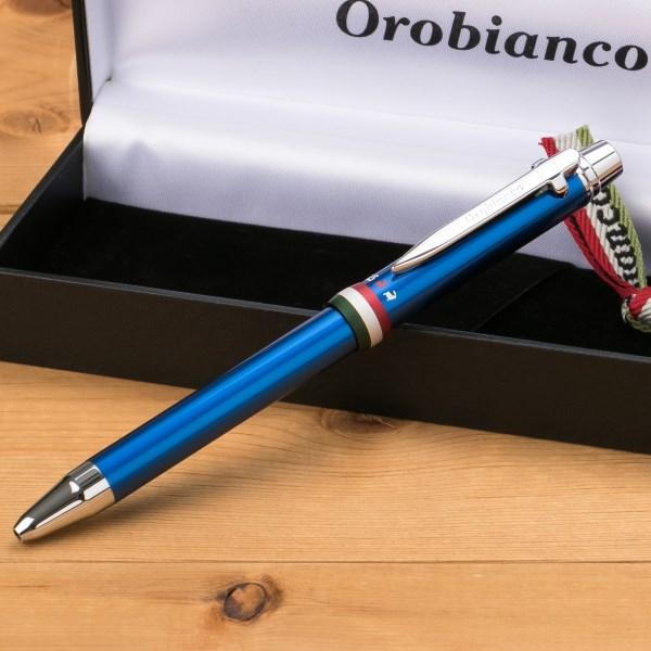 今すぐ使える!割引クーポン配布中!オロビアンコ Orobianco トリプロ コレクション 複合ペン ブルー CT 1953208