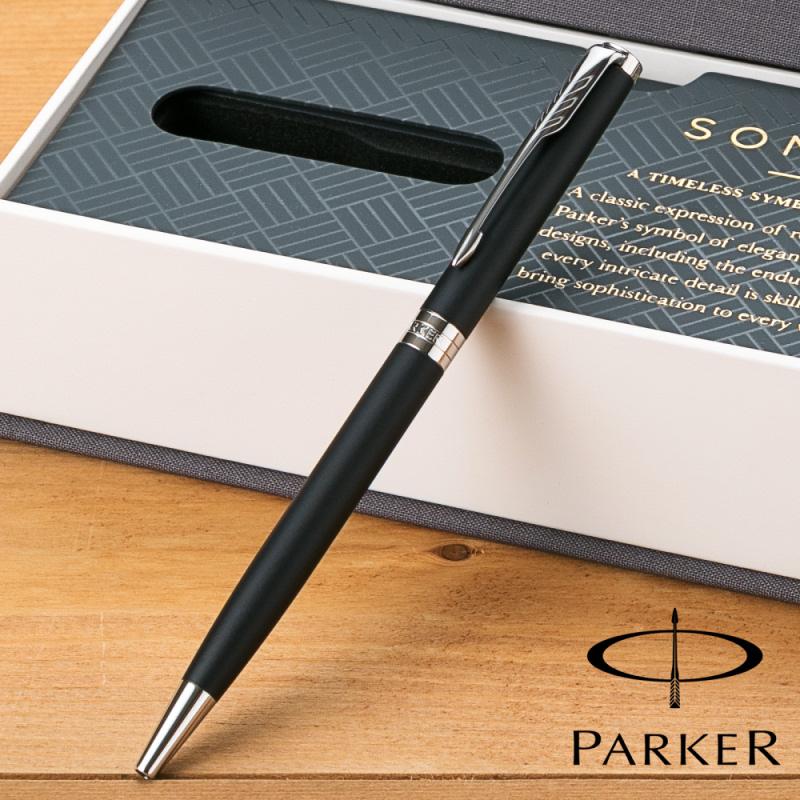 PARKER(パーカー)ソネットマットブラックCTスリムボールペン1950882