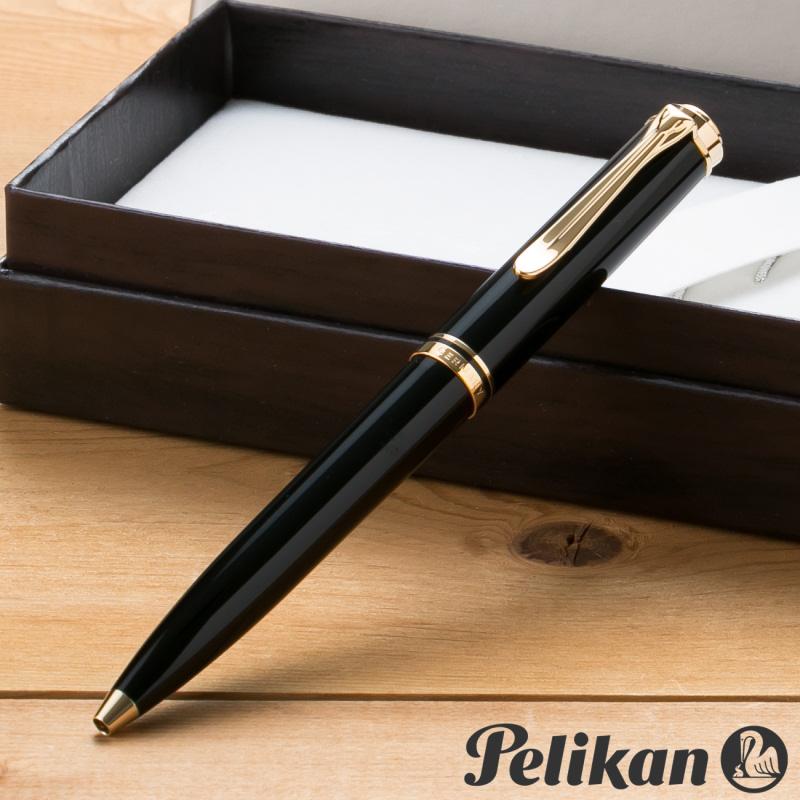 【名入れ無料】 ペリカン PELIKAN スーベレーン K600 ボールペン ブラック