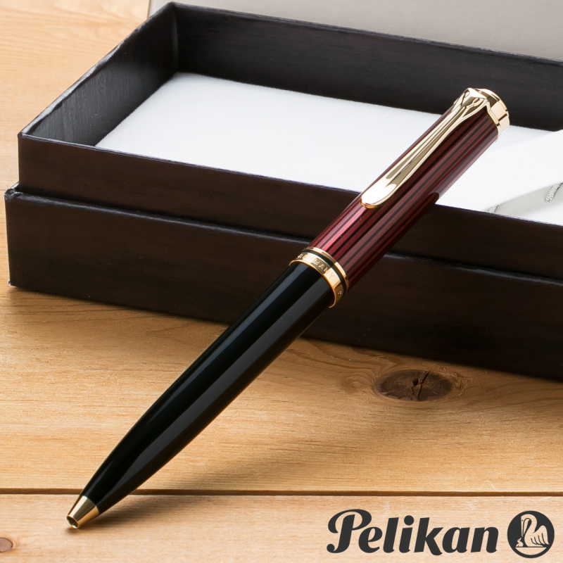 ペリカン PELIKAN スーベレーン K600 ボールペン ボルドー