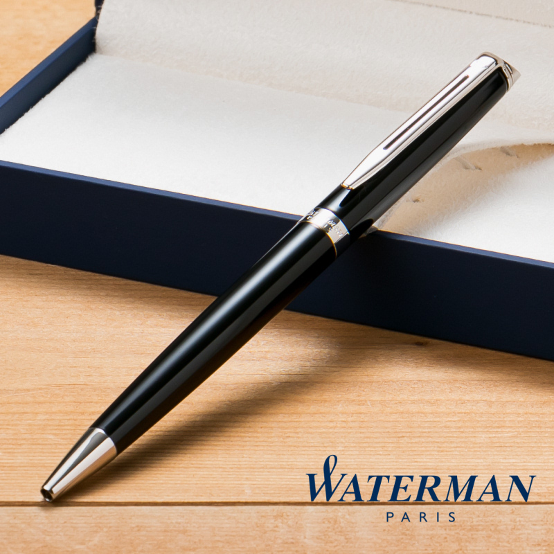 【名入れ無料】 ウォーターマン WATERMAN メトロポリタン エッセンシャル ボールペン ブラック CT S2259322