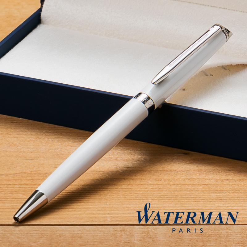 【名入れ無料】 ウォーターマン WATERMAN メトロポリタン エッセンシャル ボールペン ホワイト CT S2259332