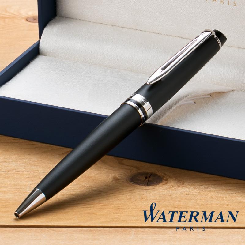 ウォーターマン WATERMAN エキスパート エッセンシャル ボールペン マットブラック CT