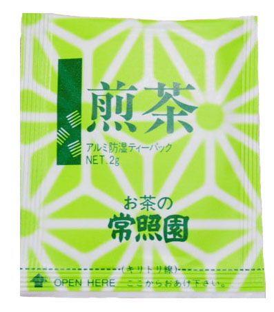 【送料無料】煎茶ティーバッグ(常照園)たっぷりお得なケース販売(1200個入り)