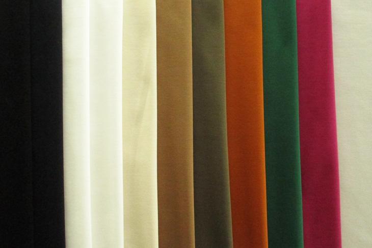 水木限定 オンラインショップ クーポン利用で100円OFF やや薄手で 70%OFFアウトレット なめらかな肌ざわり 60sポンチシルケット 最小購入数1m以上~50cm単位 手作り 生地 カラフルカラー 布