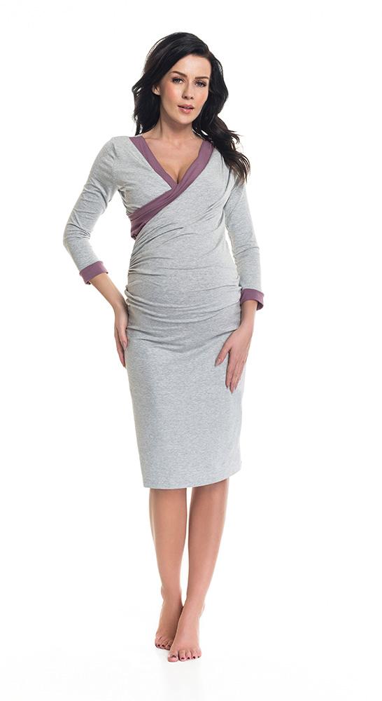 買い物 9fashion ナインファッション こだわりデザインのポーランドブランド 公式通販 マタニティパジャマ 授乳対応 授乳口付 マタニティナイティ-2カラー BINI
