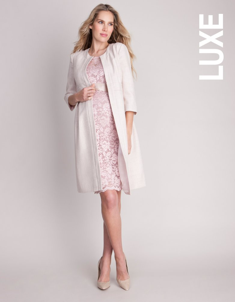 c999192ae7624 ... It is grr maternity coat - pink champagne Seraphine ANNABELLE ...