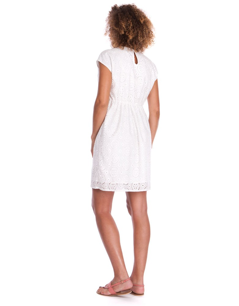 32e7922ab3f solregaro  Seraphine HARLEY race nursing dress - white