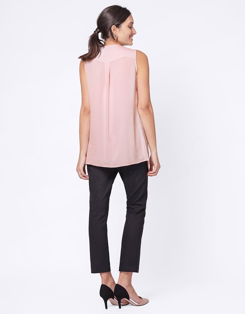 869053f338b97 solregaro: Seraphine MARGOT semi-shear nursing maternity blouse ...