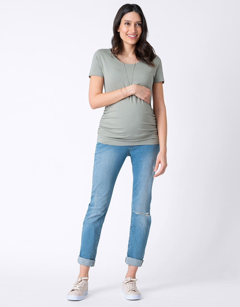 c6a395599870b □The maternity jeans that I wear it, and the feeling is good which worked  of the stretch of the British brand <Seraphine (Serafin)>.