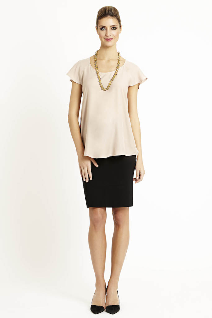 47a83c64ef476 solregaro: SLACKS & CO BARI seamless maternity skirt -2 color ...
