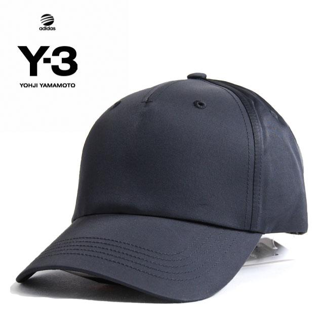 Y3 キャップ Y-3(adidas×Yohji Yamamoto) DAD CAP ワイスリー アディダス ヨージヤマモト ロゴ 刺繍 ブラック 黒 メンズ 男性 小物 帽子 アクセサリー ストリート ワンポイント