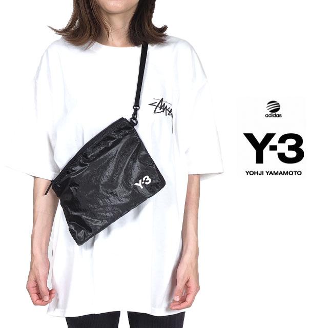 Y-3(adidas×Yohji Yamamoto) Y3 ワイスリー アディダス ショルダーバッグ サコッシュ メンズ レディース ユニセックス ポーチ ブラック 斜め掛け 肩掛け