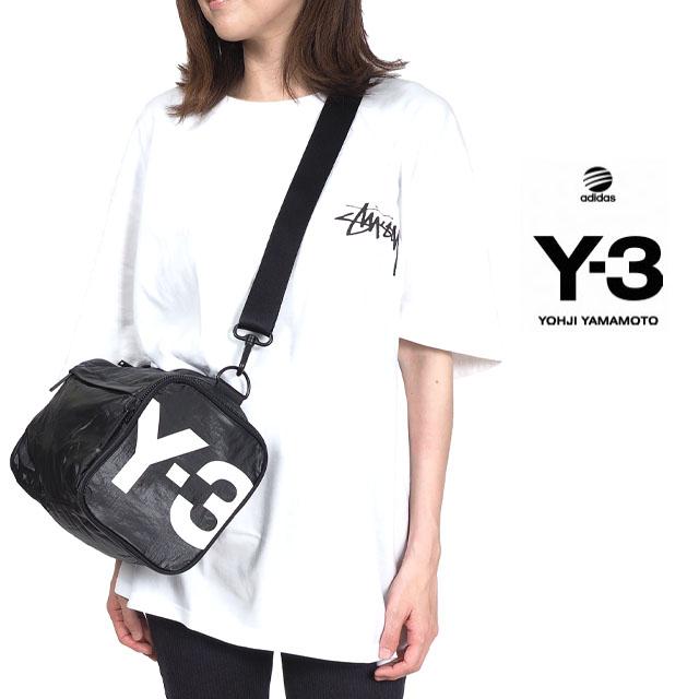[2WAY]Y-3(adidas×Yohji Yamamoto) Y3 ワイスリー アディダス ミニジムバッグ MINI GYMBAG メンズ レディース ユニセックス ポーチ ブラック BAG ヒップバック 斜め掛け 肩掛け