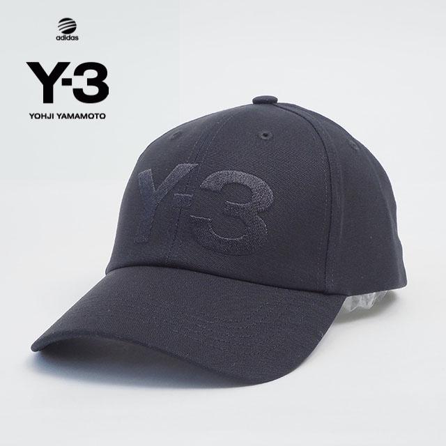 Y-3(adidas×Yohji Yamamoto) Y3 CLASSIC LOGO CAP ワイスリー アディダス ヨージヤマモト ロゴ 刺繍 ブラック 黒 メンズ 男性 小物 帽子 アクセサリー ストリート ワンポイント