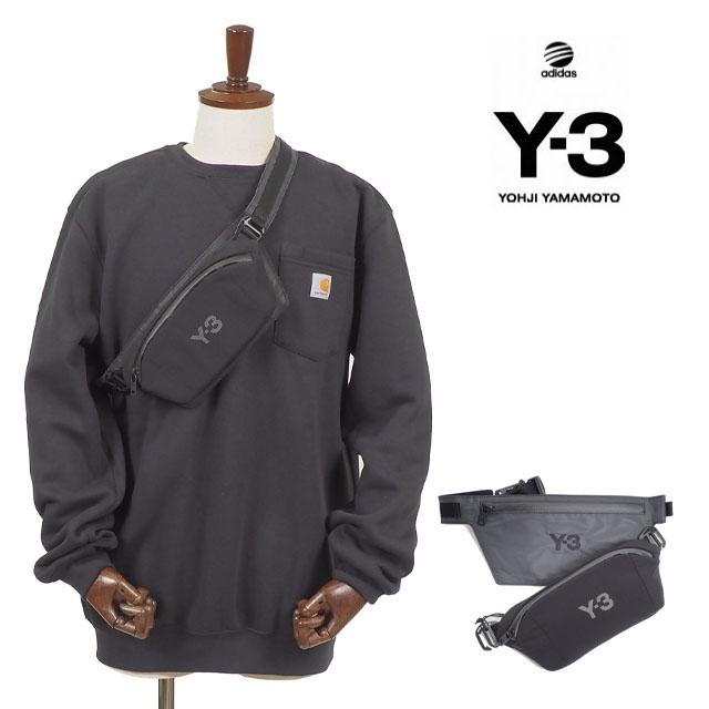 Y-3(adidas×Yohji Yamamoto) Y3 CH1 REFLECTIVE BELT BAG Y3 ワイスリー アディダス ベルトバック メンズ レディース ユニセックス ポーチ ブラック BAG ヒップバック 斜め掛け 肩掛け USAモデル