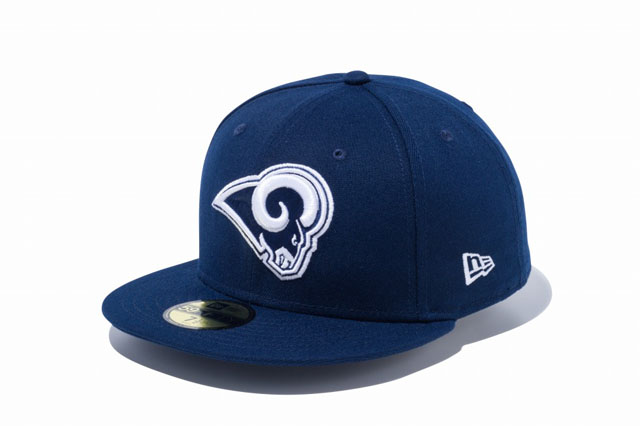 NEW Era 59 fifty fitted cap-NFL Los Angeles Rams OCEAN BLU