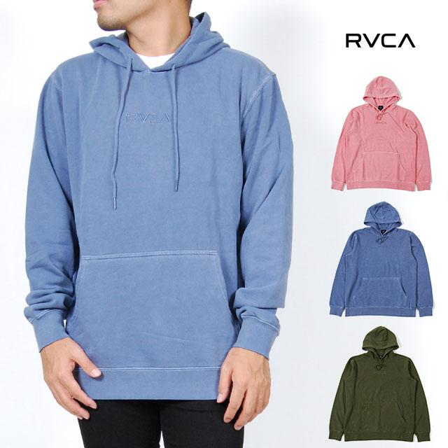 RVCA ルーカ パーカー メンズ レディース S M L XLサイズ ブルー ローズ オリーブ LITTLE RVCA TONALY 2 裏起毛 USモデル