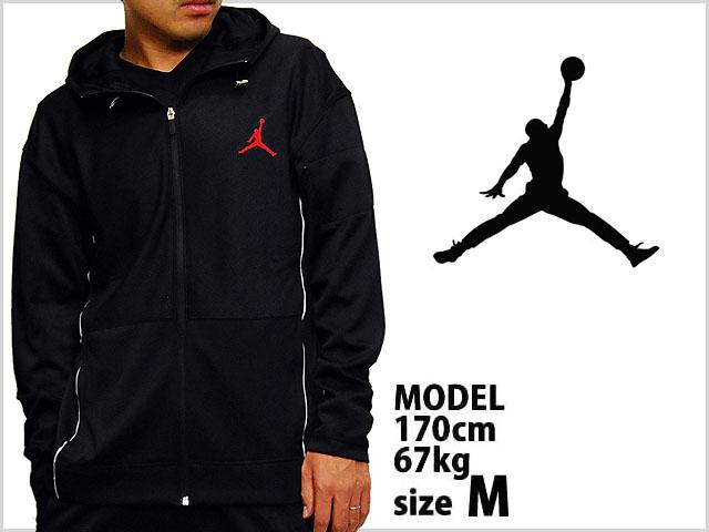 ca5a377b7ef126 ... jordan brand classic fit zip hoody jacket blk red jordan brand zip hood  ...