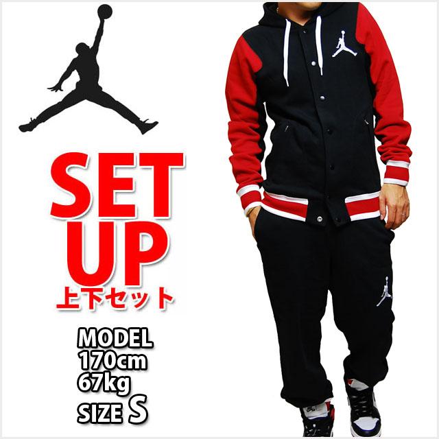 air jordan black and red sweatsuit set