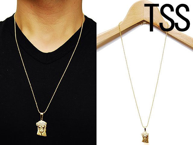 jesus jusus piece ice jewelry jimmy gold mens accessories jazz king necklace