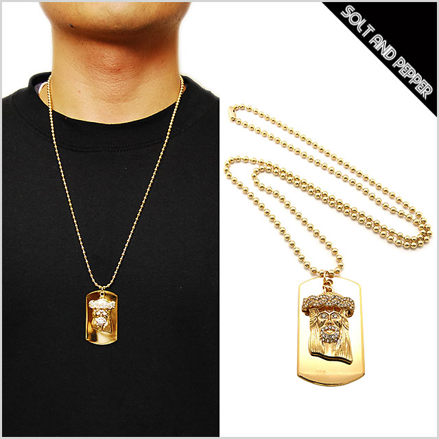 SOLT AND PEPPER Rakuten Global Market For NO BRAND GOLD DOGTAG