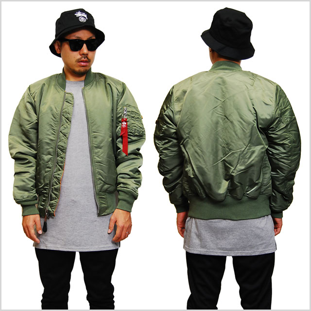 ALPHA INDUSTRIES Alpha industries Ma-1 FLIGHT JACKET JKT SAGE GREEN flight  jacket jacket Sage Green Green military outerwear mens men ladies women  xs-XL ... ac47429824c