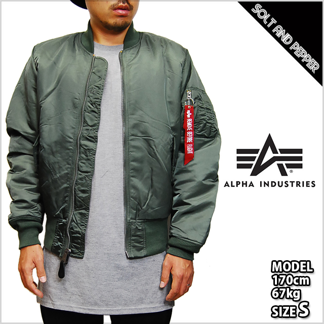 ALPHA INDUSTRIES Alpha industries Ma-1 BLOOD CHIT FLIGHT JACKET JKT SAGE  GREEN bradchit flight jacket jacket Sage Green Green military outerwear  men s men ... 62cc2f52548